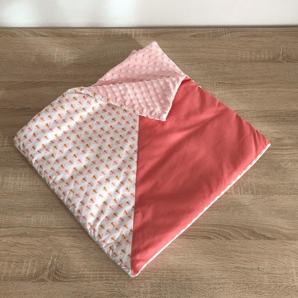 plaid couverture chaude pour bébé