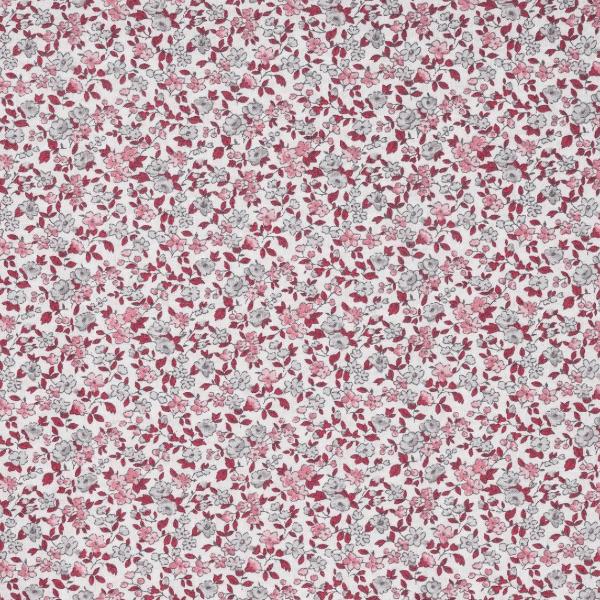 tissu bricooleuses éventail rose
